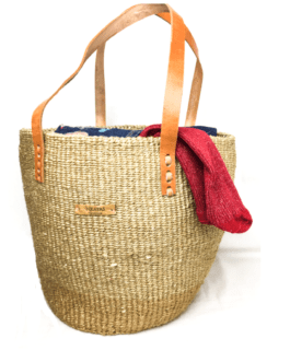 Natural Sisal Shopping Bag