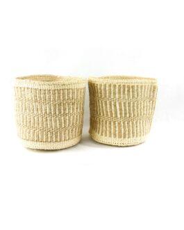 Sisal Natural Mix Storage Baskets