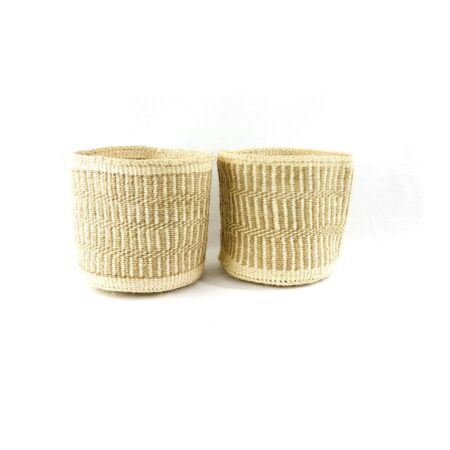 Sisal Natural Mix Storage Baskets