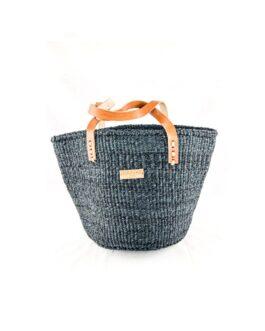 Navy Sisal handbag