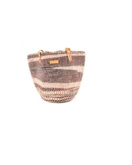 Brown and  Cream Shopping bag
