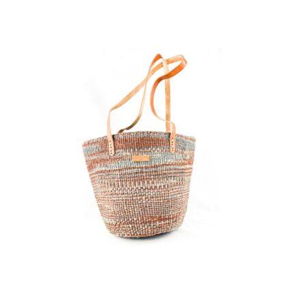 Brown and Grey Shopping bag