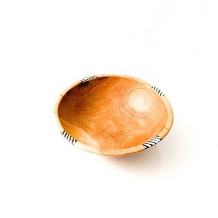 Nkatas Olive Wood African Bowls – Medium