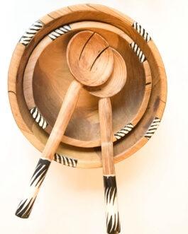 Olive Zebra Wooden Spoon
