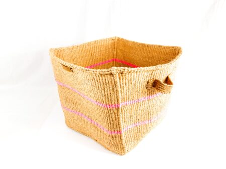 Nude with Pink Stripes Organizer
