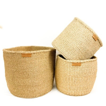 Khaki Indoor Planters – Large