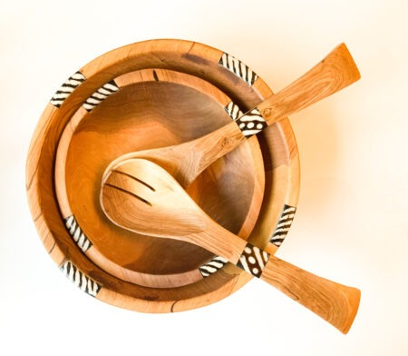 Tribal Spoon and Bowl