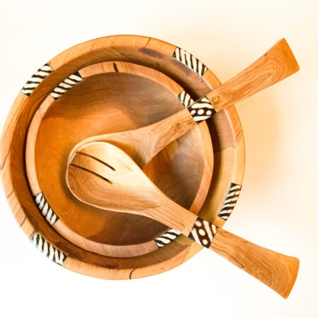 Olive Tribal Wooden Spoons