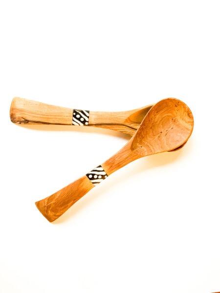 Moiko tribal wooden spoon