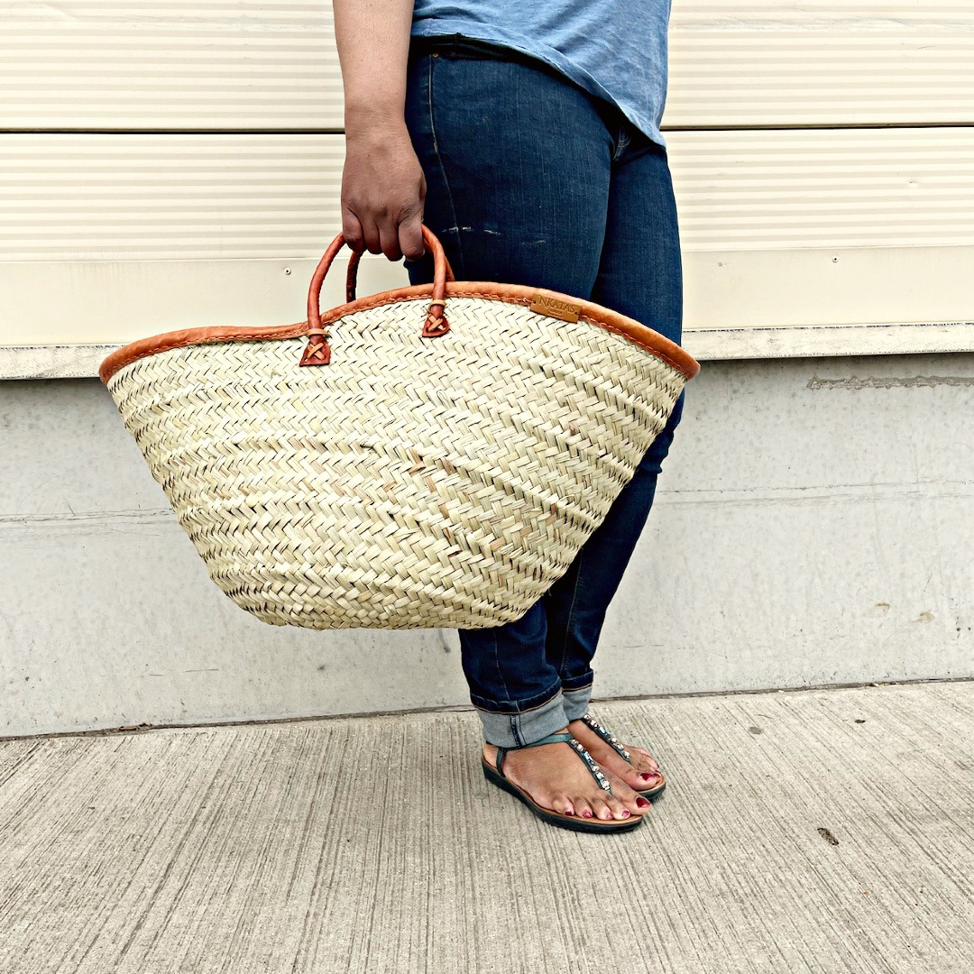 Introducing the Shuka Palm Leaf Baskets
