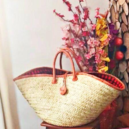Shuka Market Large Tote Basket